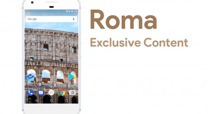 Roma – Wallpaper