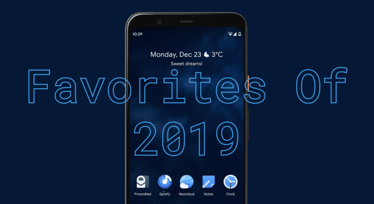 Favorites Of 2019 – Icon Packs, Wallpapers And More