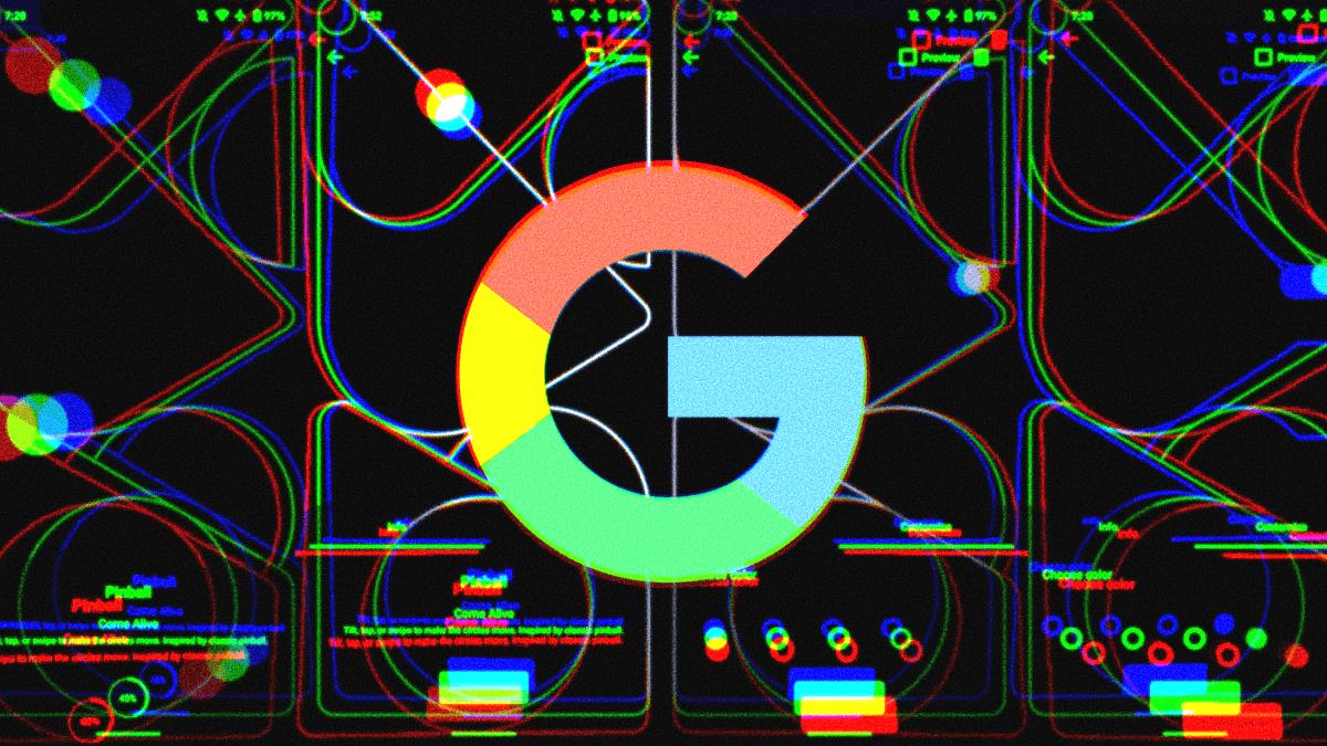 Pixel 5 Wallpaper Design Preview