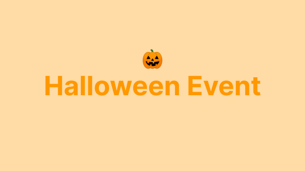 Halloween Homescreen Setup Event 🎃
