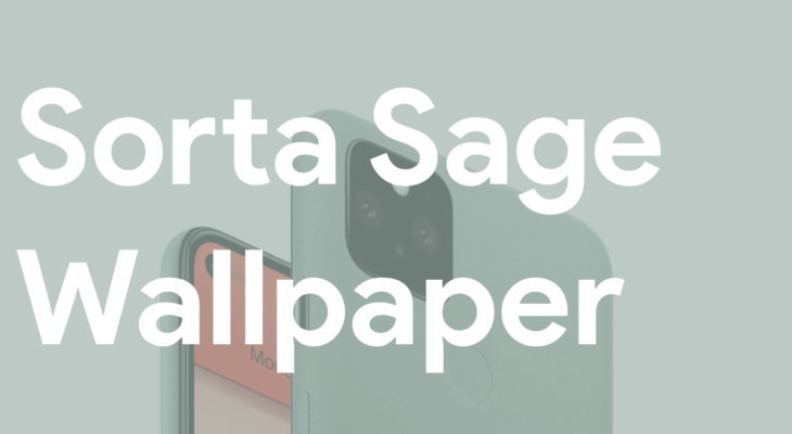 Google Pixel 5 Sorta Sage Wallpaper