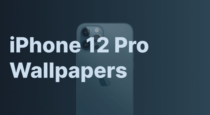 iPhone 12 Pro Pacific Blue And Midnight Blue Wallpapers