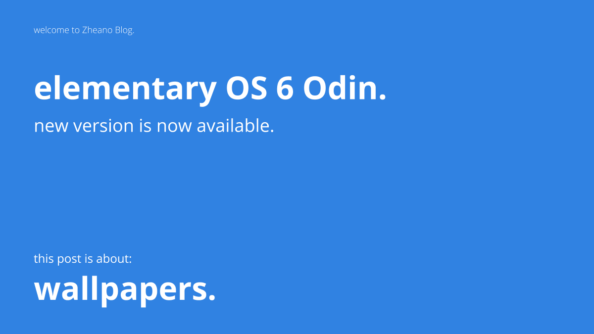 Download elementary OS 6 Odin Wallpapers