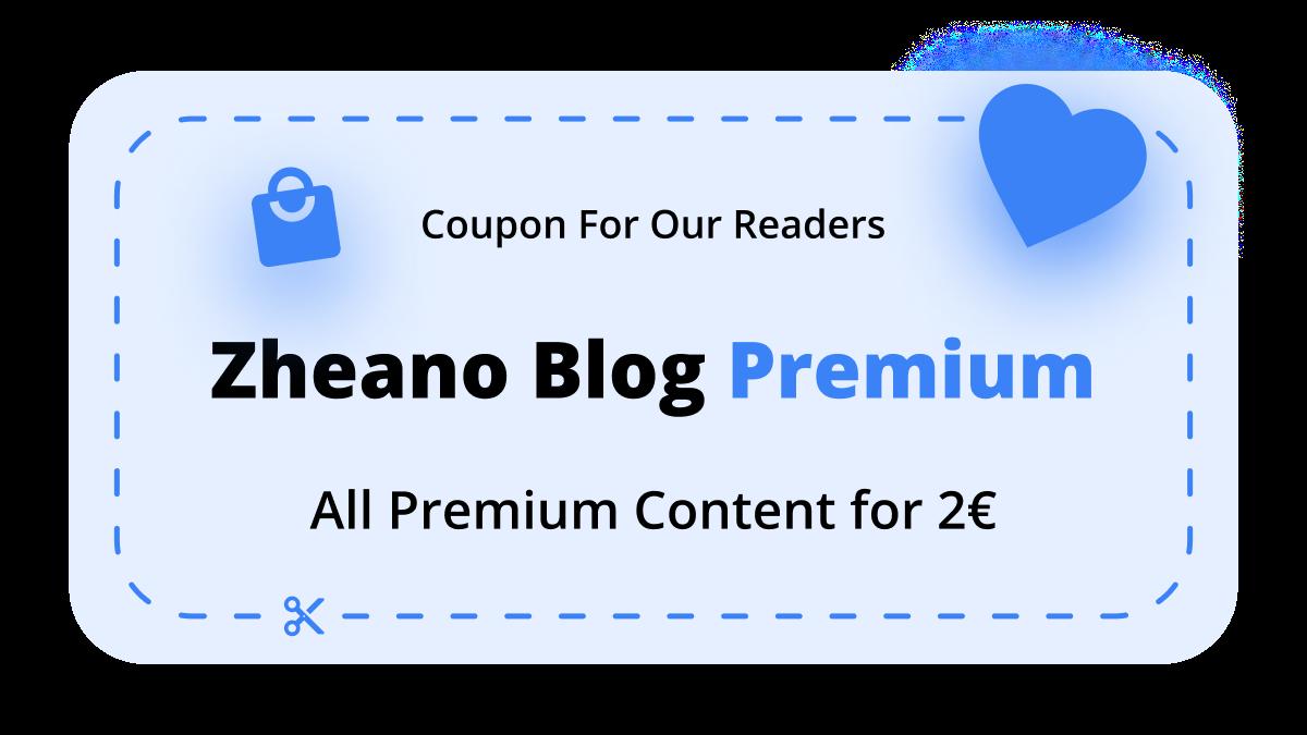 Zheano Blog Premium